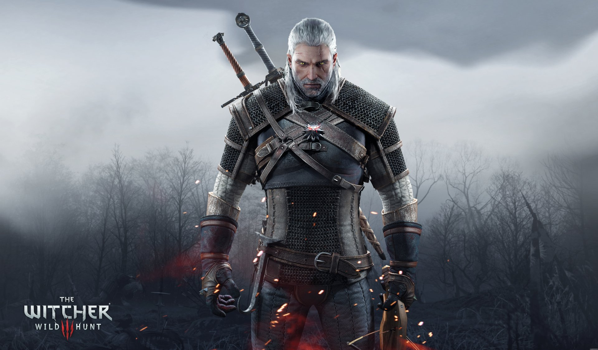 The witcher 3 geralt de riv