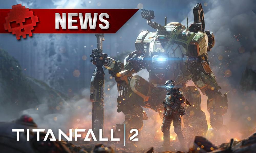 Titanfall 2 - EA explique la gratuité des DLC pilote devant robot