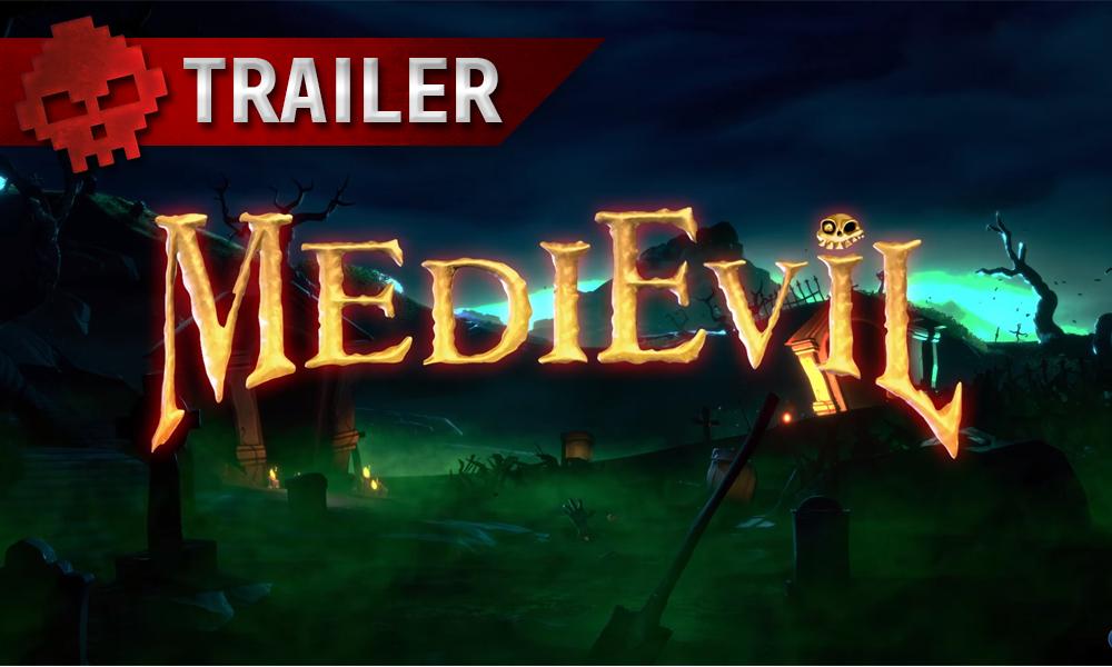 vignette trailer - logo remake medievil
