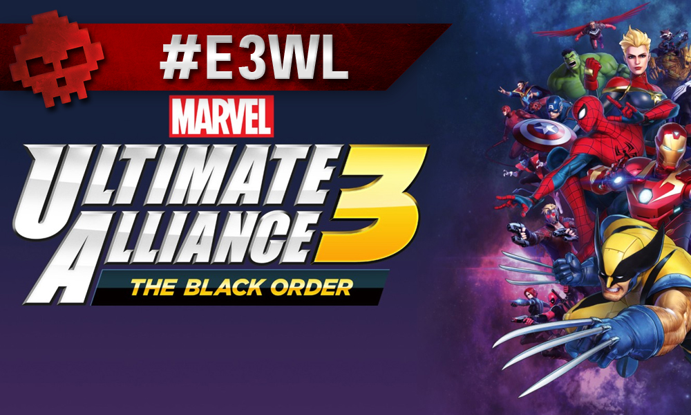 Vignette Ultimate Alliance 3 : The Black Order E3