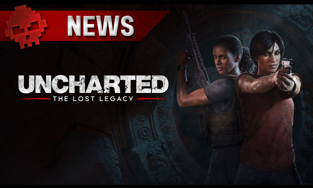 Uncharted: The Lost Legacy - Le stand-alone se dévoile en images Logo et héroines du jeu