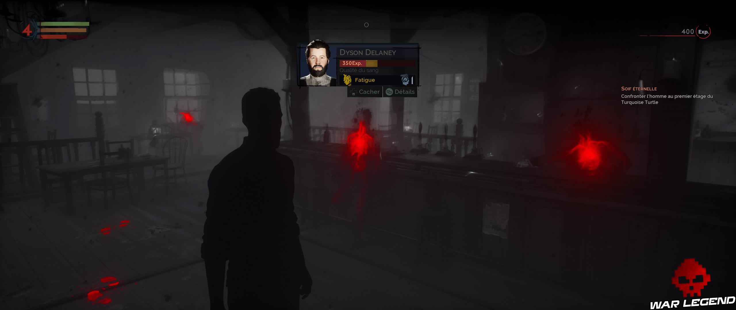Vampyr test vision vampirique