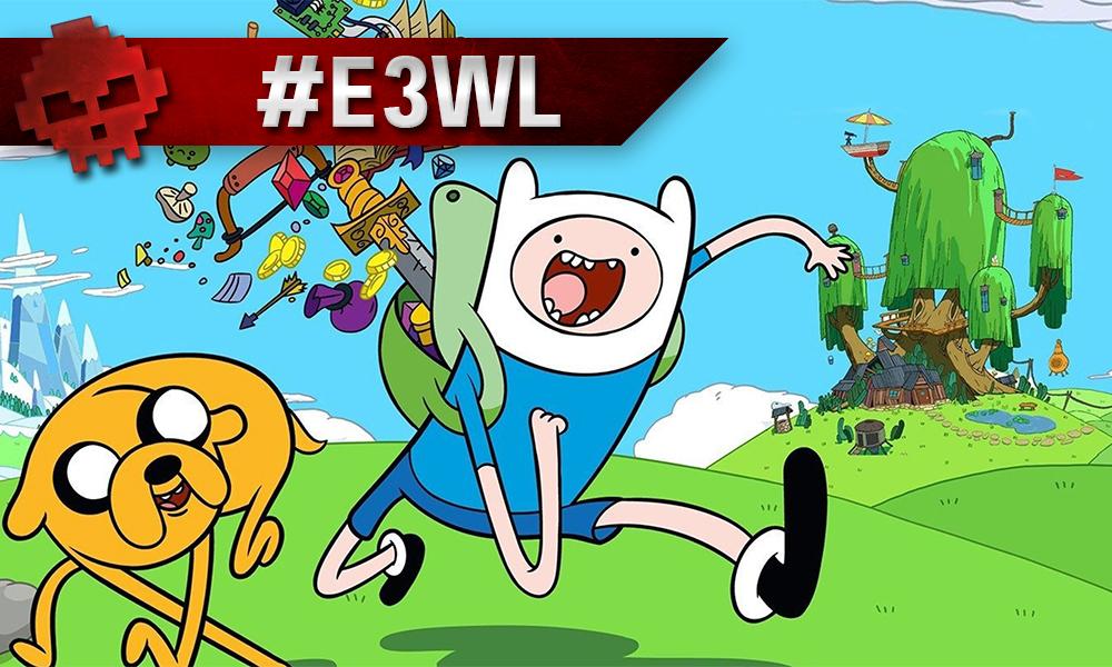 Vignette E3WL adventure time brawlhalla