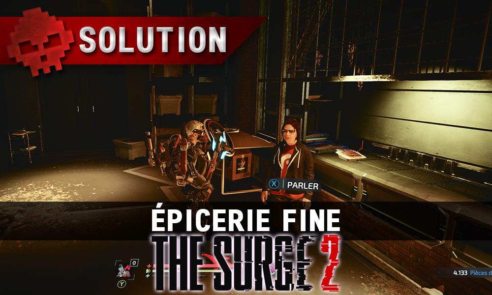 Vignette Soluce The Surge 2 - épicerie fine
