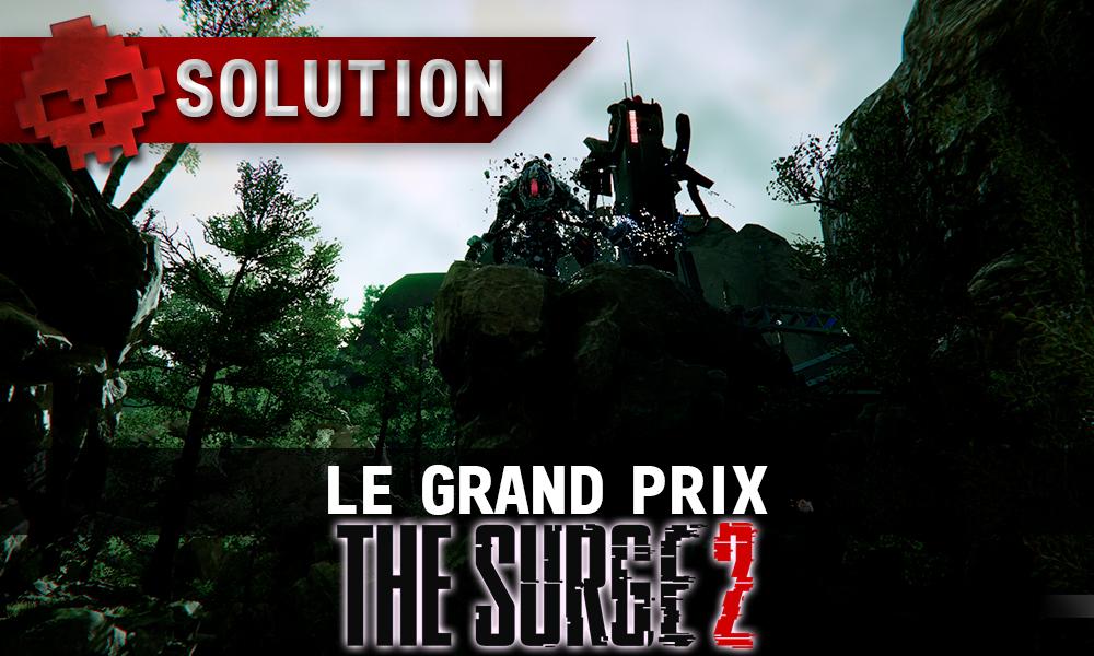 Vignette Soluce The Surge 2 - le grand prix