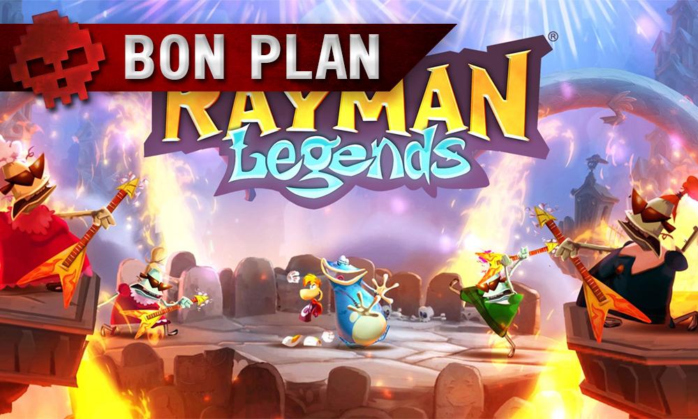 Vignette bon plan rayman legends