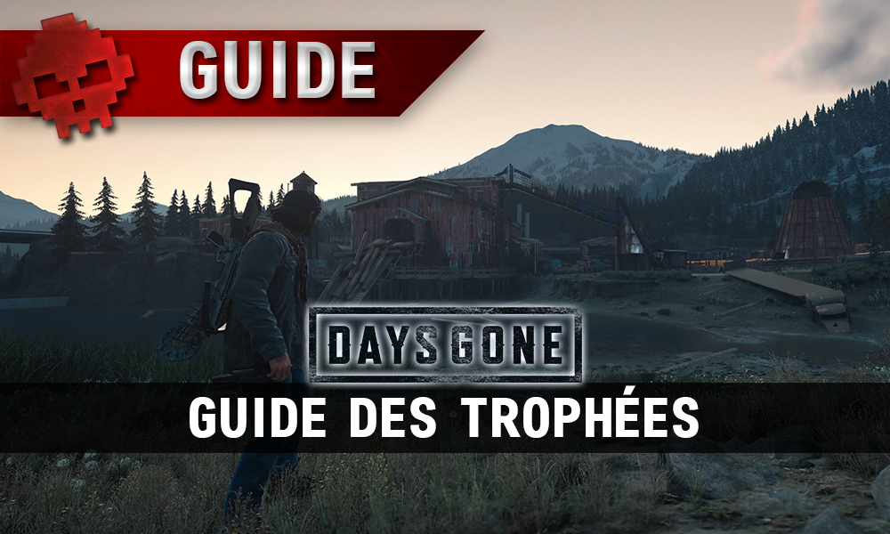 Vignette days gone guide des trophées