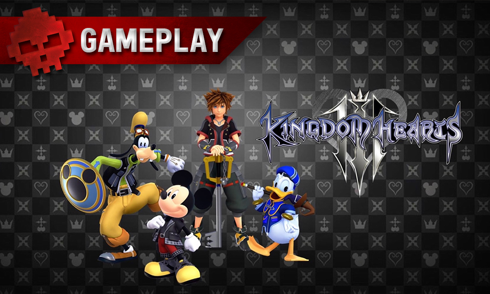 Vignette gameplay Kingdom Hearts 3