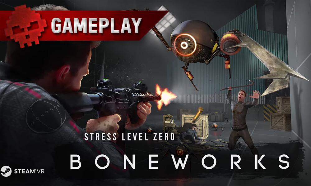 Vignette gameplay boneworks