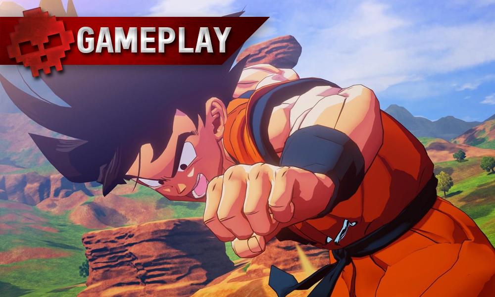 Vignette gameplay dbz kakarot