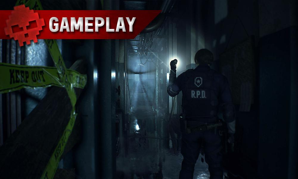 Vignette gameplay resident evil 2 remake