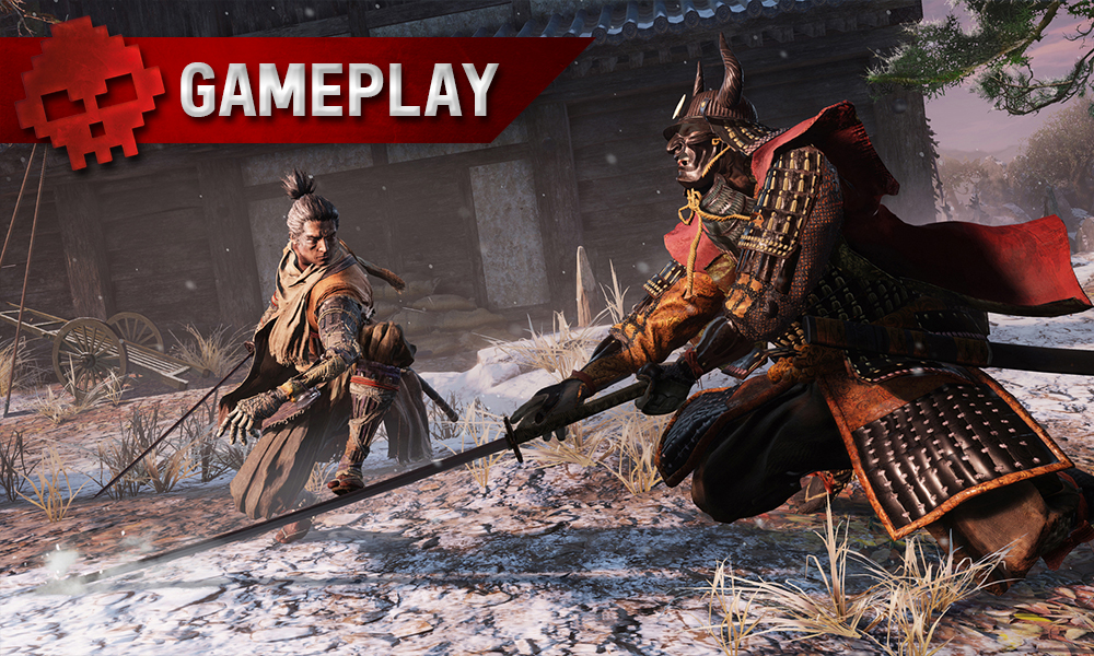 Vignette gameplay sekiro shadows die twice