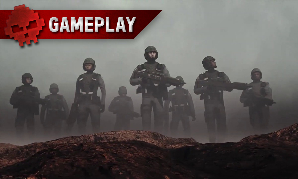 Vignette gameplay starship troopers terran comand