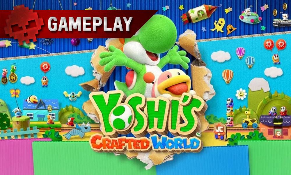 Vignette gameplay yoshi's crafted world