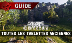 Vignette guide assassin's creed odyssey tablettes anciennes