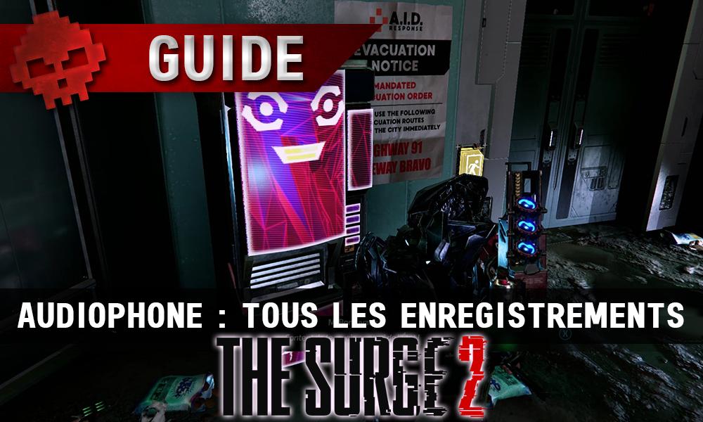 Vignette guide audiophone
