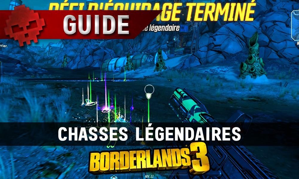 Vignette guide borderlands 3 chasses légendaires