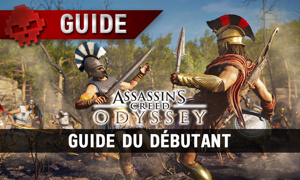Vignette guide débutant Assassin's Creed Odyssey