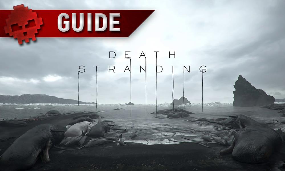 Vignette guide death stranding