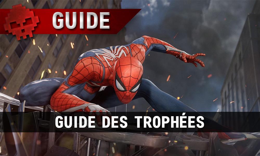 Vignette guide trophées spider-man