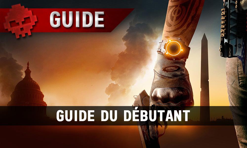 Vignette guide du débutant the division 2