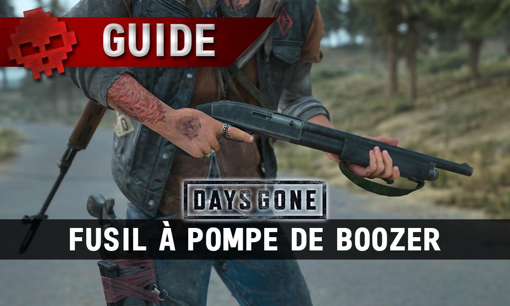Vignette guide fusil à pompe de boozer