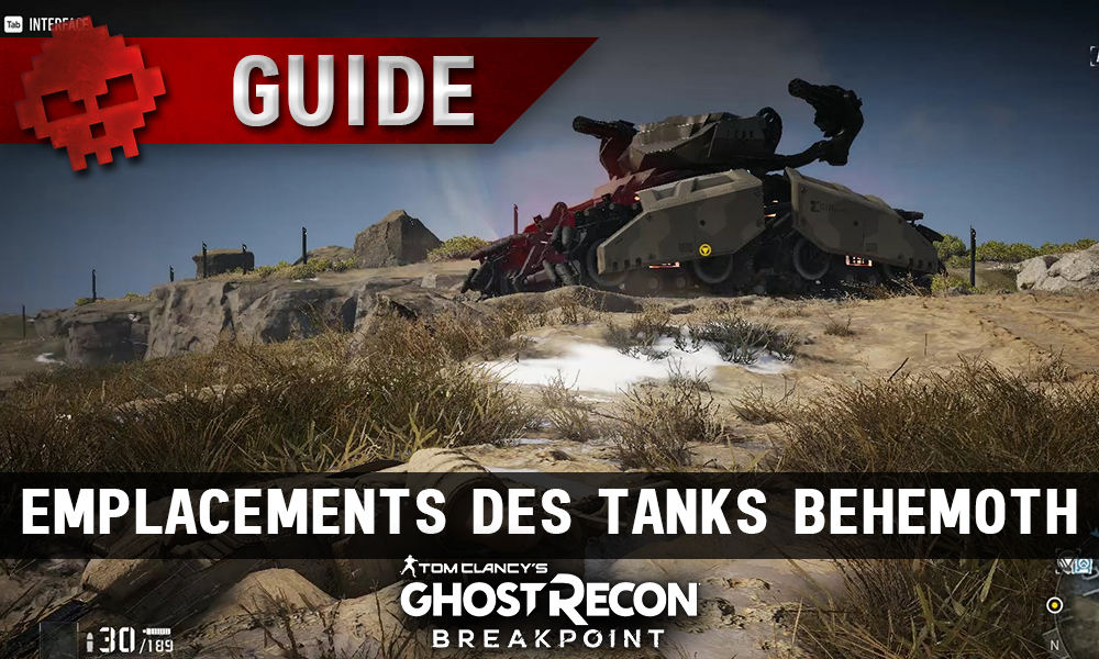 Vignette guide ghost recon breakpoint tanks behemoth