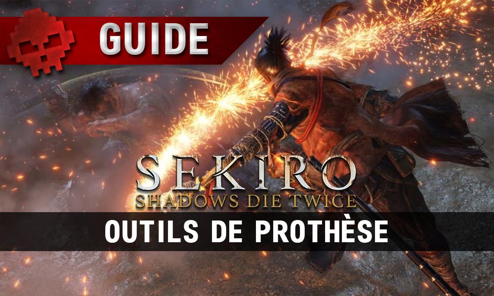 Vignette guide outils de prothèse sekiro