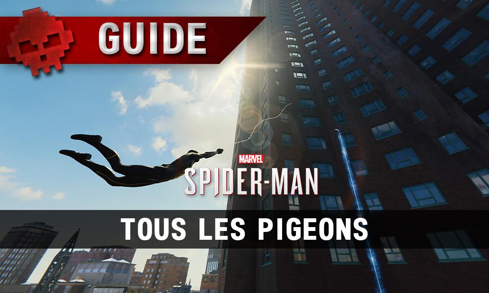 Vignette guide pigeons spider-man
