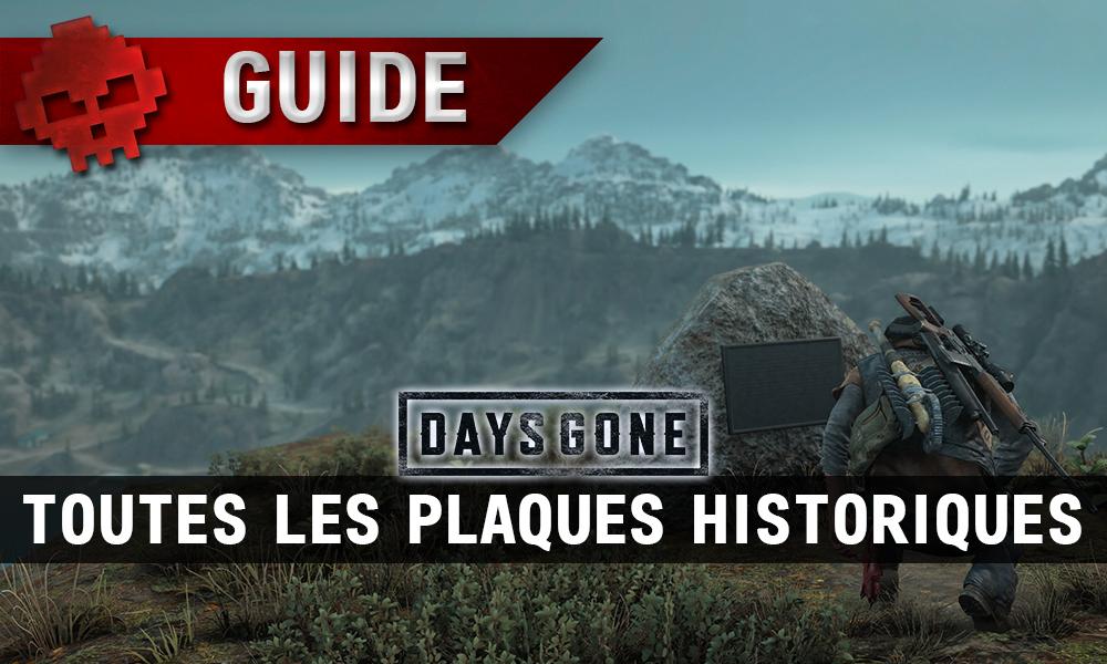 Vignette guide plaques historiques days gone