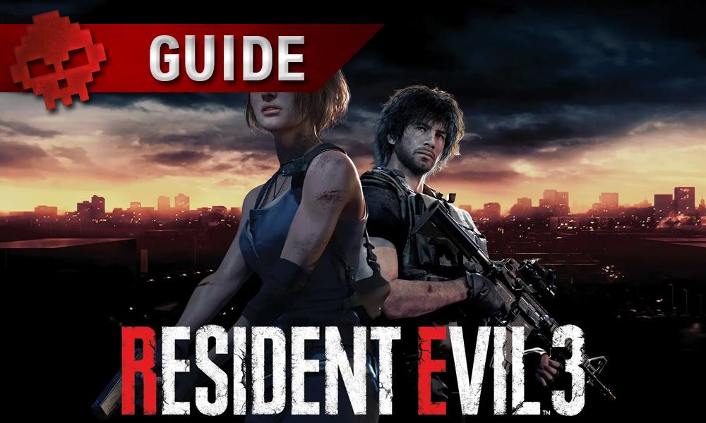 Vignette guide resident evil 3