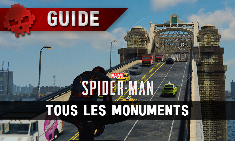 Vignette guide spider-man monuments