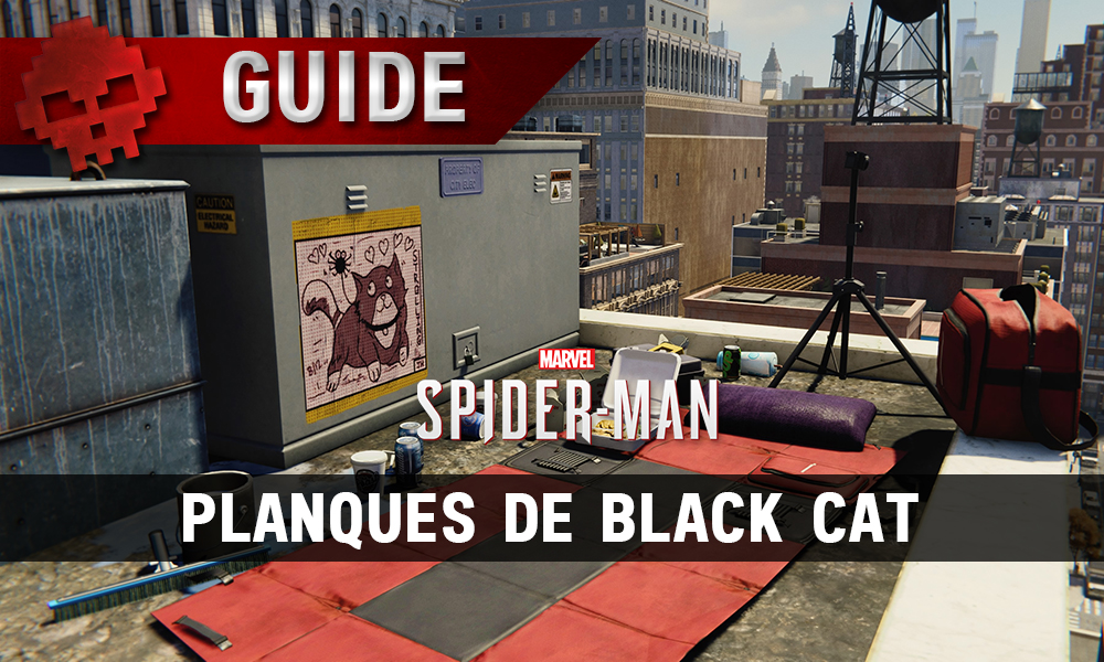 Vignette guide planques de black cat spider-man