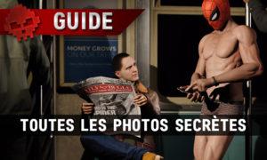 Vignette guide spider-man toutes les photos secrètes