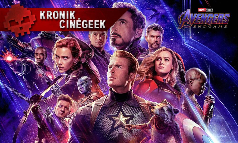 Vignette kronik cinégeek Avengers Endgame