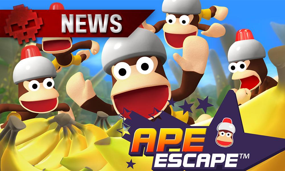 Vignette news ape escape