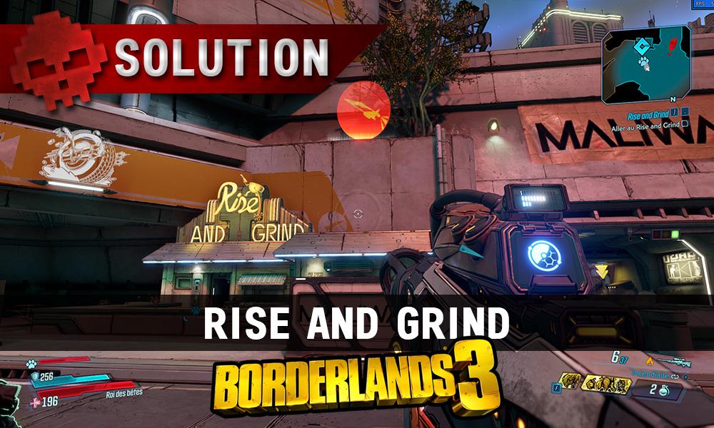 Vignette soluce borderlands 3 rise and grind