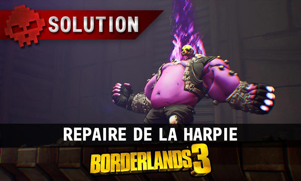 vignette soluce borderlands 3 repaire de la harpie