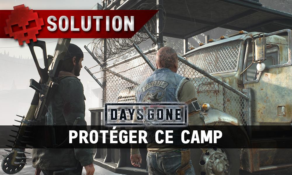 Vignette soluce days gone protéger ce camp