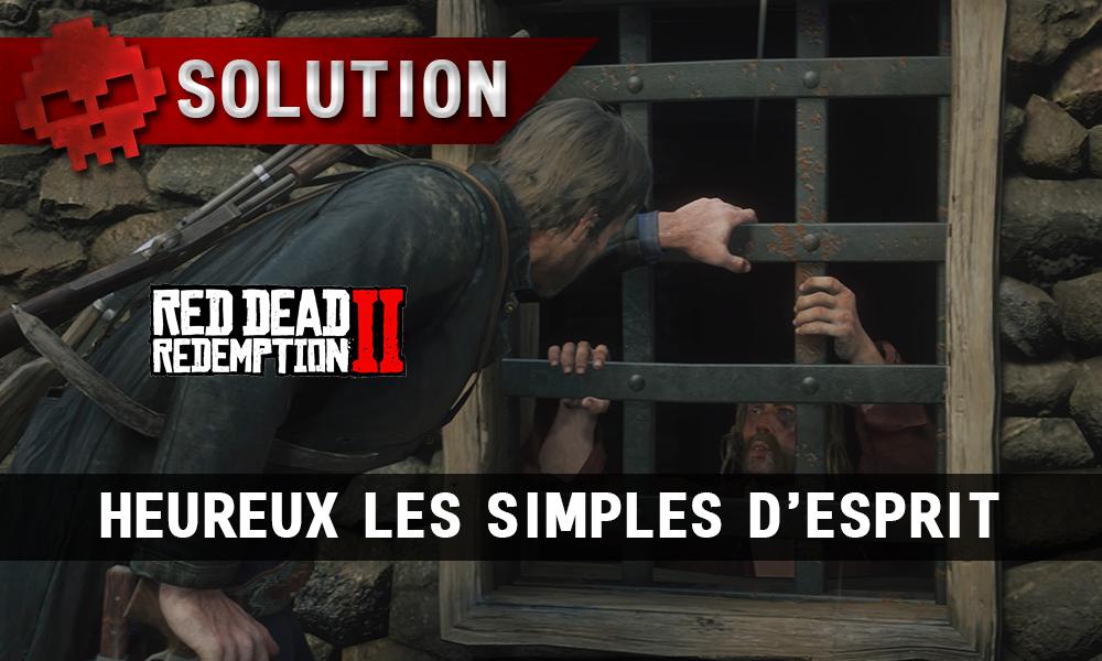 Vignette soluce red dead redemption 2 heureux les simples d'esprit