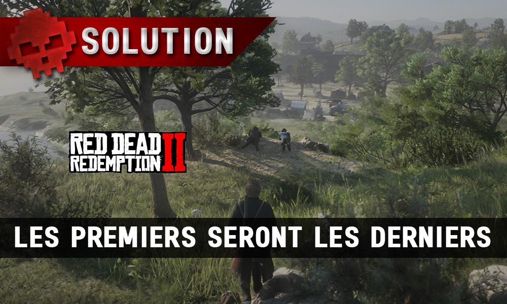 Vignette soluce red dead redemption 2 les premiers seront les derniers