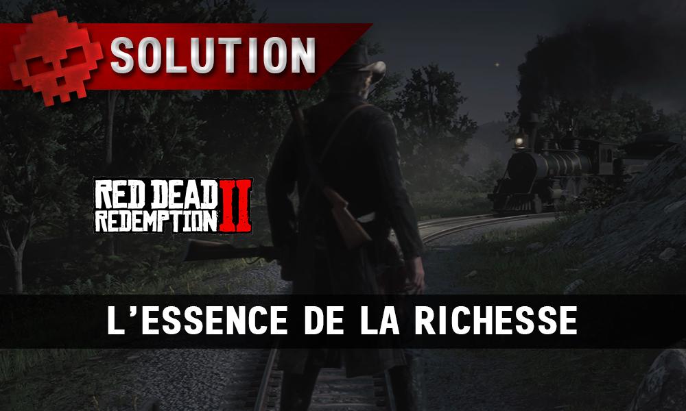 Vignette soluce red dead redemption 2 l'essence de la richesse