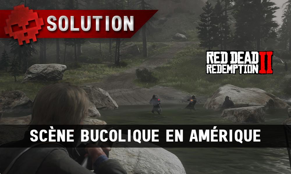 Vignette soluce red dead redemption 2 scène bucolique en amérique