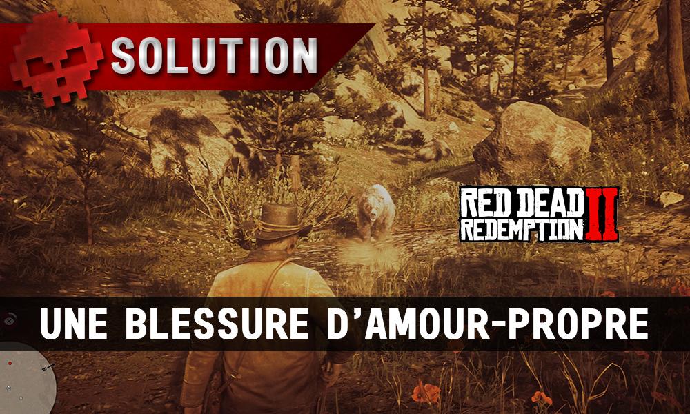 vignette soluce red dead redemption 2 une blessure d'amour-propre