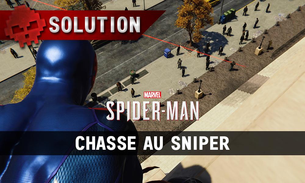 Vignette soluce spider-man chasse au sniper