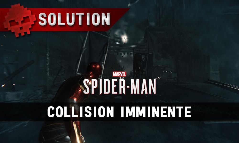 Vignette soluce spider-man collision imminente