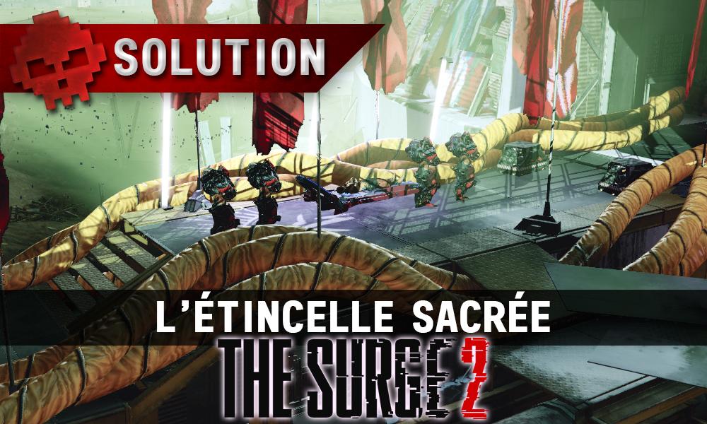 Vignette soluce the surge 2 l'étincelle sacrée