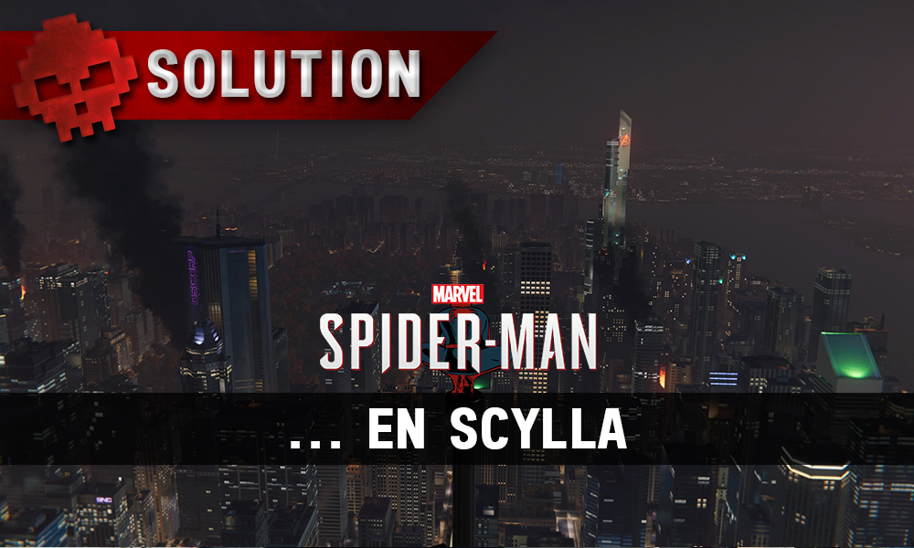 Vignette solution Spider-Man ... en scylla
