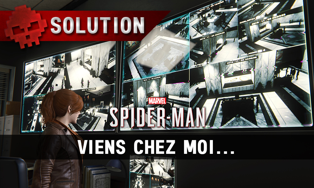 Vignette solution Spider-Man viens chez moi