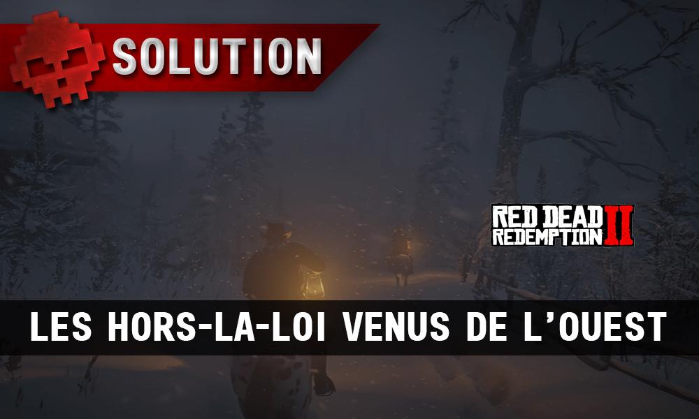 Vignette solution red dead redemption 2 les hors-la-loi venus de l'ouest